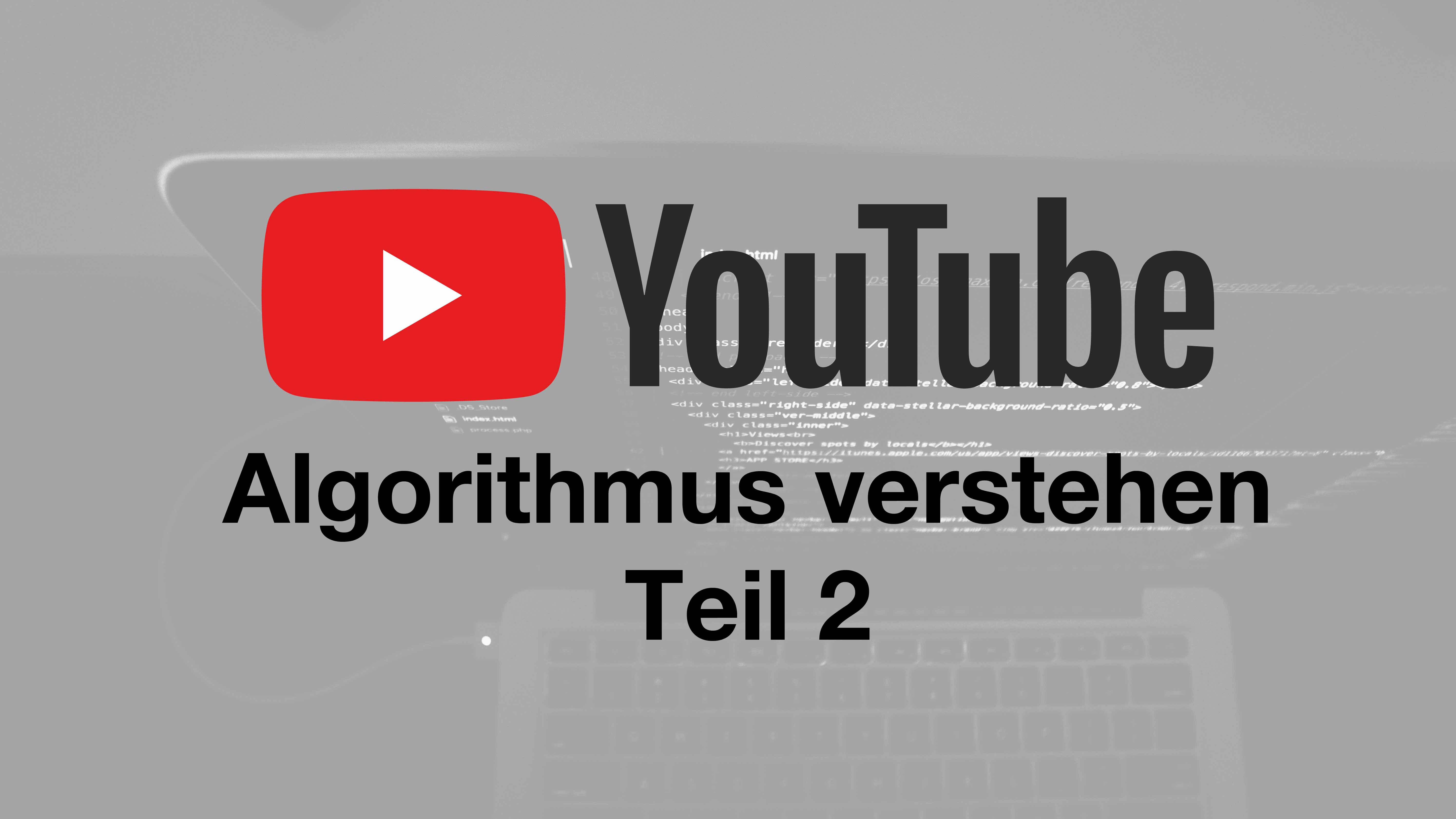 Algorithmus Youtube