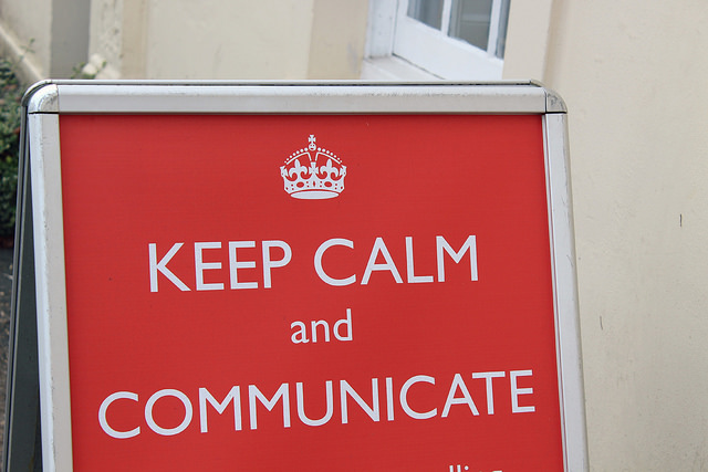 Keep calm Content Marketing