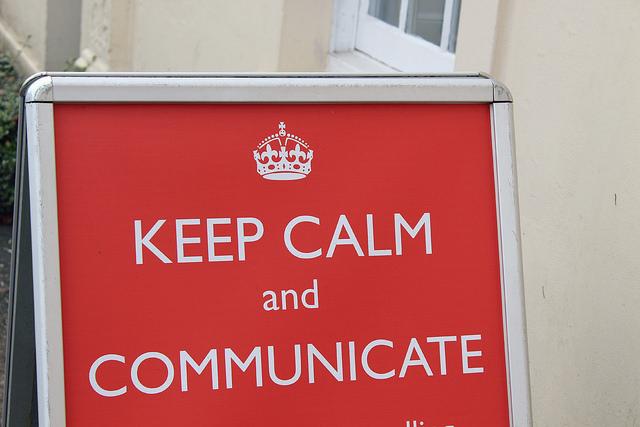 Keep calm Content Marketing